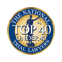 "The National Trial Lawyers ""Top 40 Under 40"""